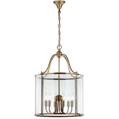 Sutton Place 6-Light Foyer Pendant