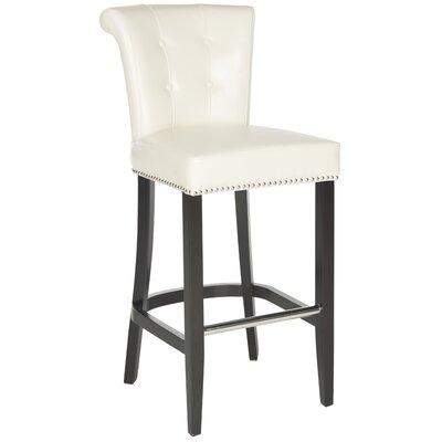 Addo Ring 29.7 inch Bar Stool Upholstery: Flat Cream