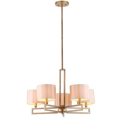 Catena 5-Light Shaded Chandelier