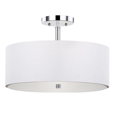 Clara 3-Light Semi Flush Mount
