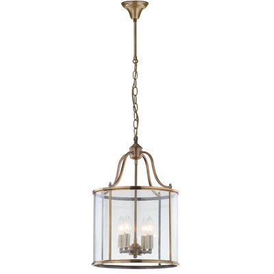 Sutton Place 4-Light Foyer  Pendant