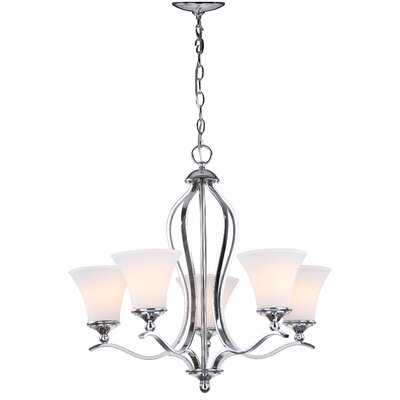 Celeste 5-Light Shaded Chandelier