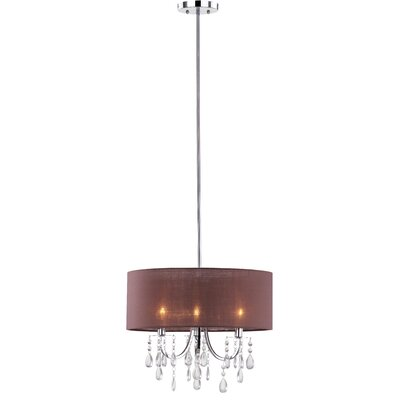 Contessa 3-Light Drum Pendant