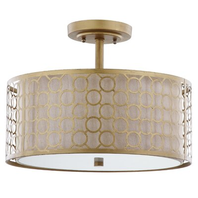 Torpoint 3-Light Semi Flush Mount