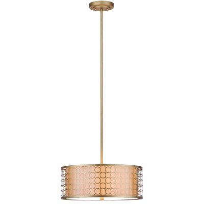 Torpoint 3-Light Drum Pendant