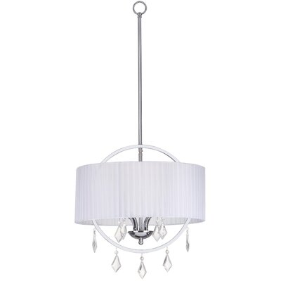 4-Light Concerta Drum Pendant
