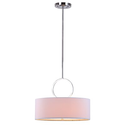 Debonair 1-Light Drum Pendant