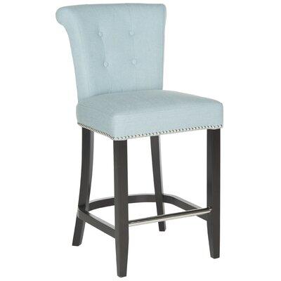 Addo Ring 25.7 Bar Stool Upholstery: Sky Blue