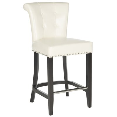 Addo Ring 25.7 Bar Stool Upholstery: Flat Cream