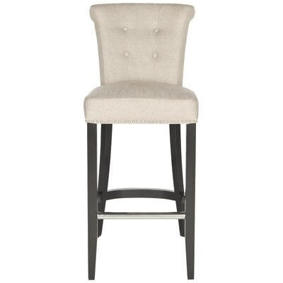 Addo Ring 29.7 Bar Stool Upholstery: Biscuit Beige