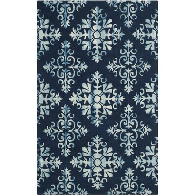 Dip Dye Navy/Blue Area Rug