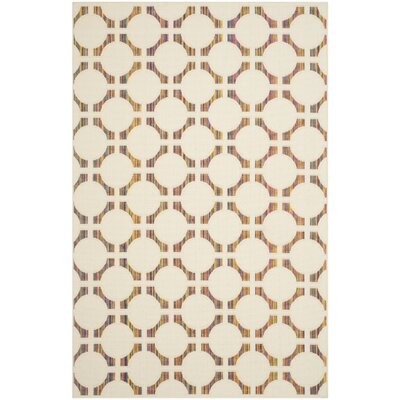 Havana Natural Beige Indoor/Outdoor Area Rug Rug Size: Rectangle 4 x 57
