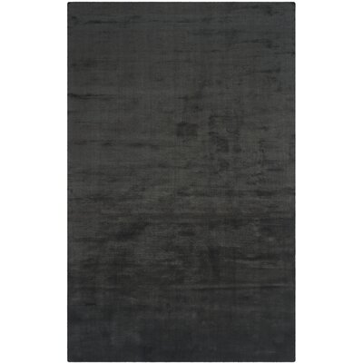 Mirage Black Area Rug Rug Size: 4 x 6