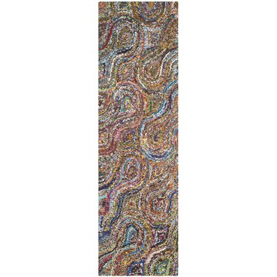 Anaheim Abstract Area Rug Rug Size: Runner 23 x 9