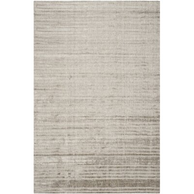 Alaina Hand- Knotted Slate Area Rug Rug Size: Rectangle 8 x 10