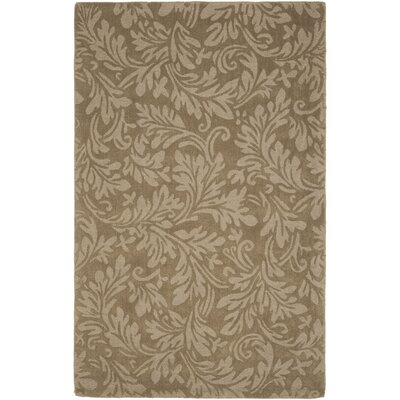 Impression Light Brown Area Rug Rug Size: 4 x 6