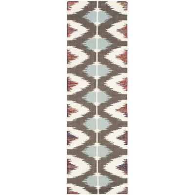 Dhurries Area Rug Rug Size: Runner 2'6