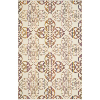 Havana Natural Indoor/Outdoor Area Rug Rug Size: 5'1