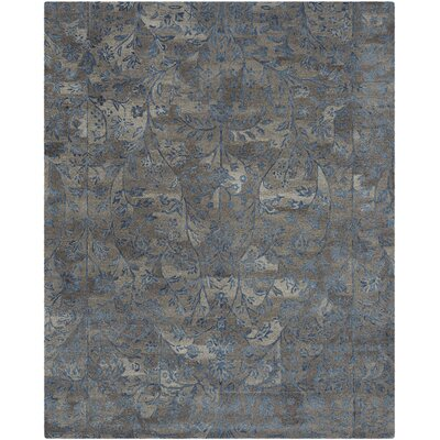 Sapphire Brown/Blue Area Rug Rug Size: 6 x 9