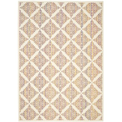 Havana Natural Indoor/Outdoor Area Rug Rug Size: 51 x 77
