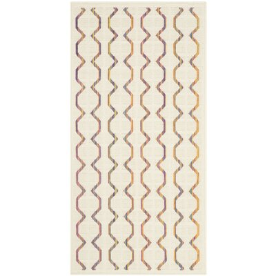 Havana Natural Indoor/Outdoor Area Rug Rug Size: Runner 27 x 5