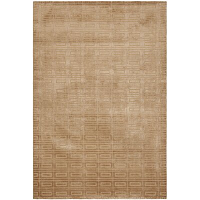 Mirage Camel Area Rug Rug Size: Rectangle 8 x 10