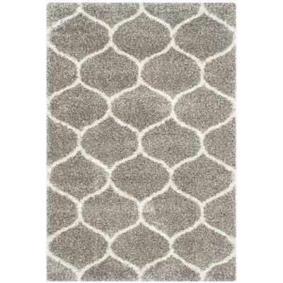 Safavieh Hudson Shag Grey Area Rug - Rug Size: 10' x 14'