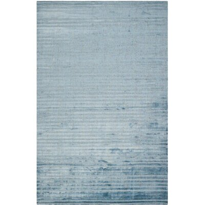 Mirage Blue Area Rug Rug Size: Rectangle 9' x 12'