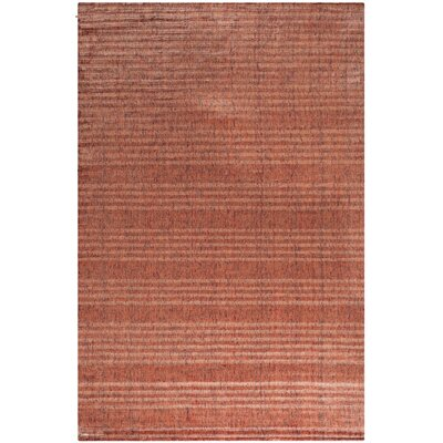 Mirage Rust Area Rug Rug Size: Rectangle 9 x 12