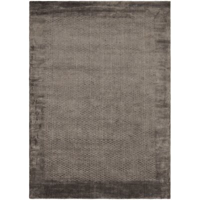 Mirage Gray Area Rug Rug Size: 9 x 12