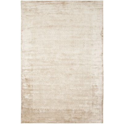 Mirage Taupe Area Rug Rug Size: Rectangle 6 x 9