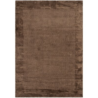 Mirage Brown Area Rug Rug Size: 9 x 12
