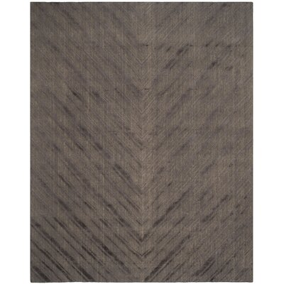 Mirage Charcoal Area Rug Rug Size: Rectangle 9 x 12