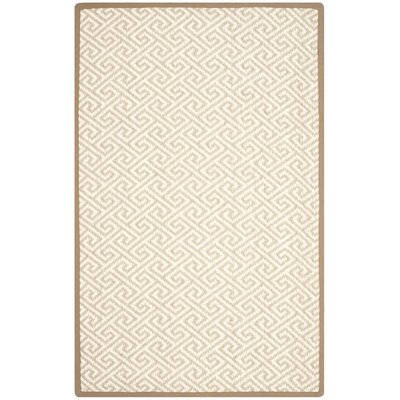 Natural Natural Area Rug Rug Size: 5' x 8'