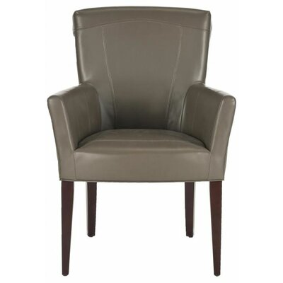Dale Arm Chair Finish: Clay