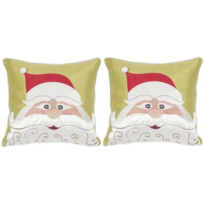 Santas Cheer Throw Pillow
