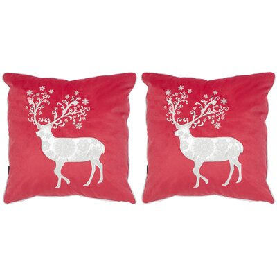 Prancer Throw Pillow