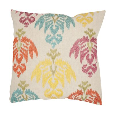 Dina Cotton Throw Pillow Size: 18 H x 18 W, Color: Multi 1