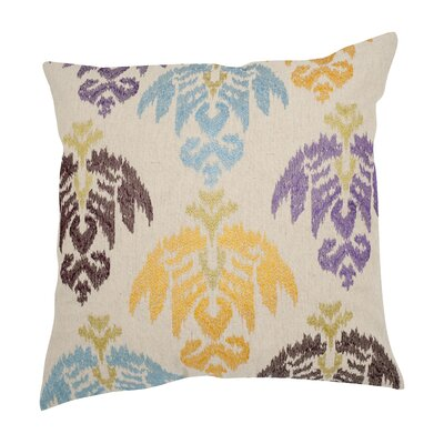 Dina Cotton Throw Pillow Size: 22 H x 22 W, Color: Multi 2