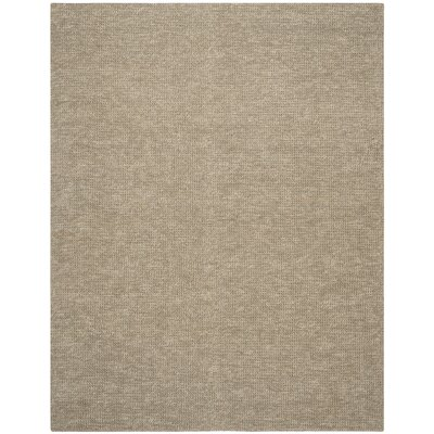 Nubby Tweed Hand woven Brown Area Rug Rug Size: Rectangle 9 x 12