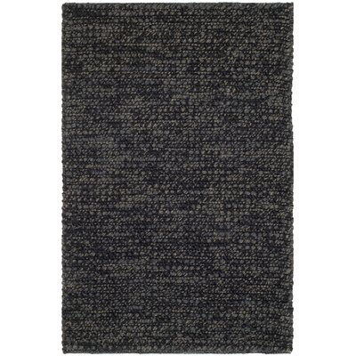 Nubby Tweed Ebony Area Rug Rug Size: Rectangle 18 x 210