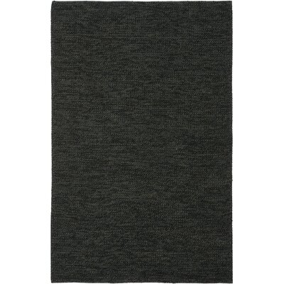 Nubby Tweed Ebony Area Rug Rug Size: Rectangle 5 x 8