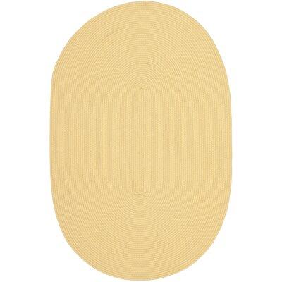Winding Butternut Beige Area Rug Rug Size: Oval 18 x 210