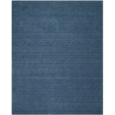 Lynndale Hand Woven Wool Blue Area Rug Rug Size: Rectangle 9 x 12