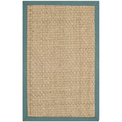 Countryside Mallard Brown/Blue Area Rug Rug Size: 8 x 10
