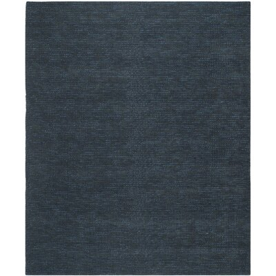 Nubby Tweed Ink Area Rug Rug Size: 26 x 310