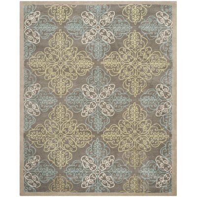 Pirouette Moss Area Rug Rug Size: Rectangle 9 x 12