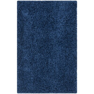 Safavieh Soft Shag Ink Area Rug