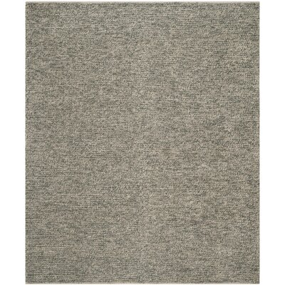 Nubby Tweed Oyster Area Rug Rug Size: Rectangle 26 x 310