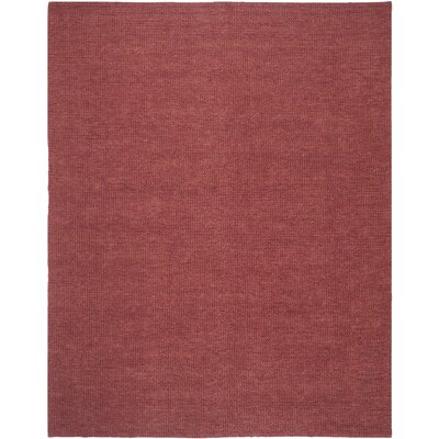 Nubby Tweed Adobe Area Rug Rug Size: 8' x 10'